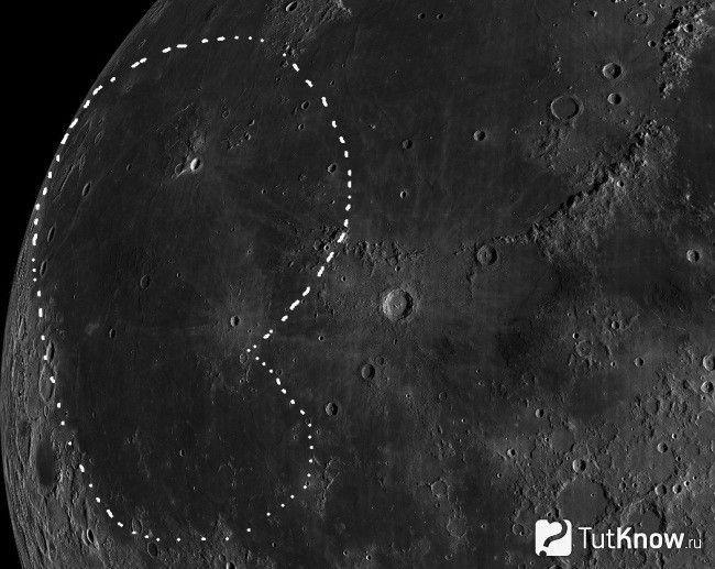 Океан Бур на Місяці