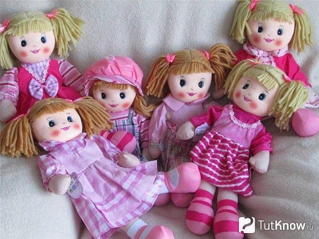 ганчіркові ляльки