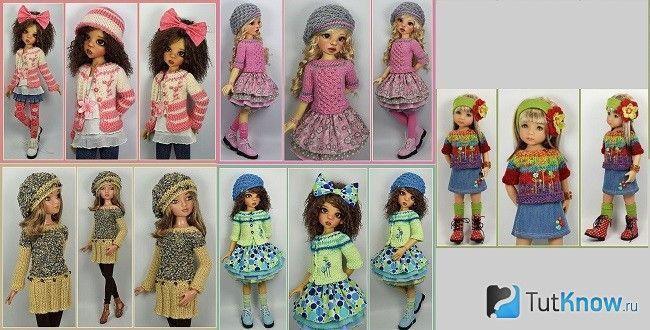 Варіанти тропічних ляльок