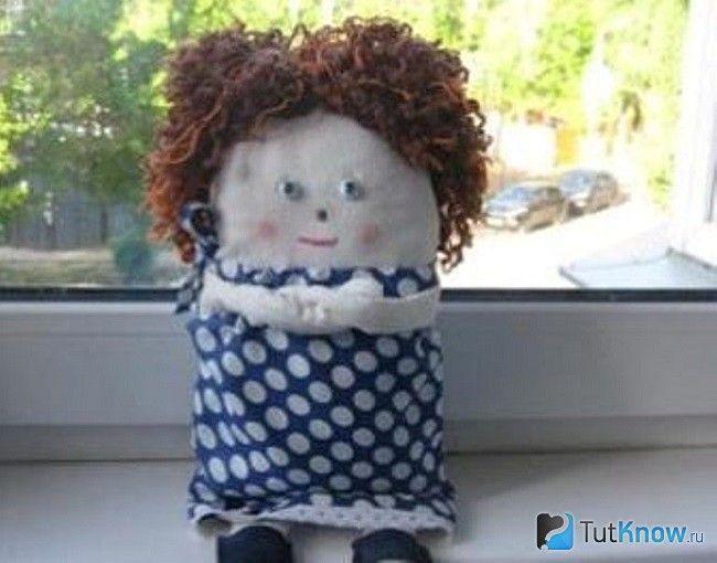 Тряпічная лялька з тканини