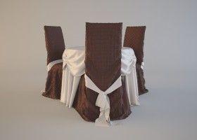 Робимо накидки на стільці, шиємо скатертину своїми руками