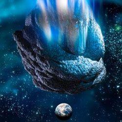 Метеорити різних типів допомогли створити землю
