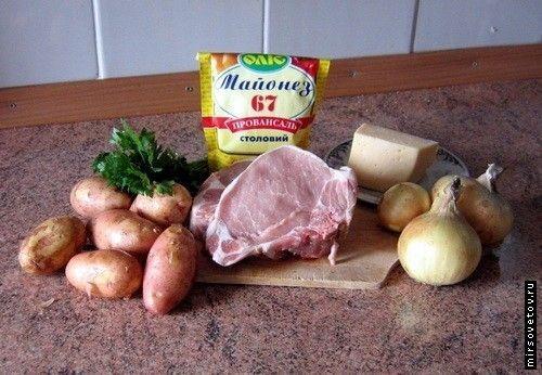 М`ясо по французьки