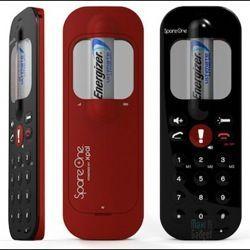 Мобільний телефон, що працює на батареї АА-стандарту