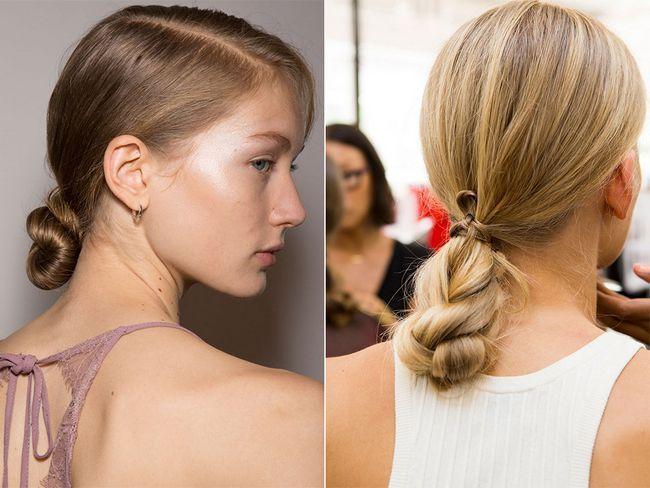 Зачіски з джгутами весна-літо 2017
