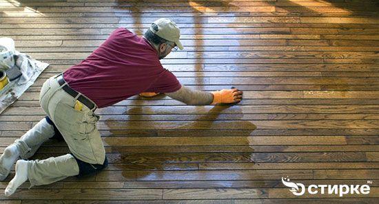 миття дерев`яної підлоги