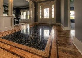Монтаж штучного каменю на підлогу