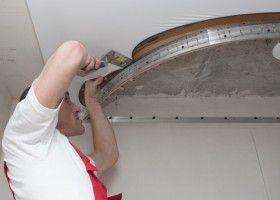 Монтаж натяжної стелі своїми руками