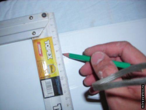 Монтаж пластикового підвісної стелі