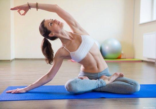 Схуднення за допомогою йоги
