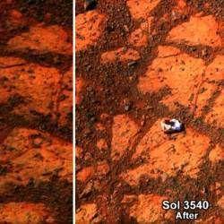На марсі виявлено загадковий