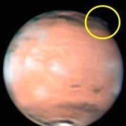 Над марсом помітили загадкове хмара
