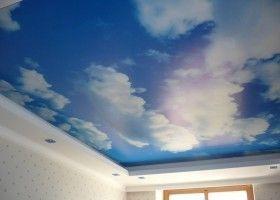 Натяжна стеля у вигляді неба