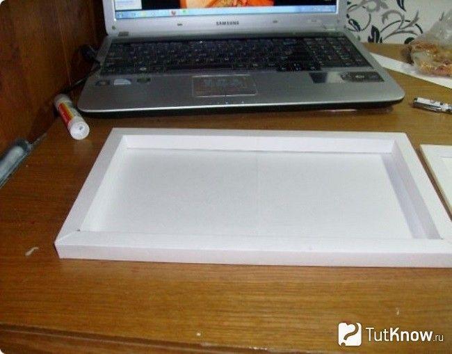 Заготівля для картонного ноутбука