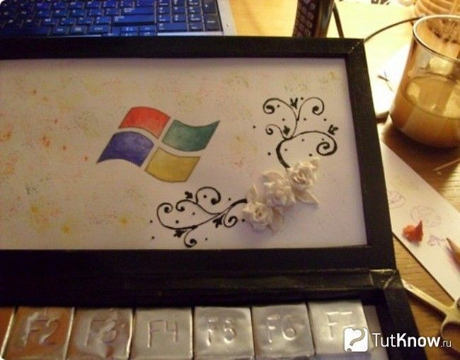 Декорування ноутбука