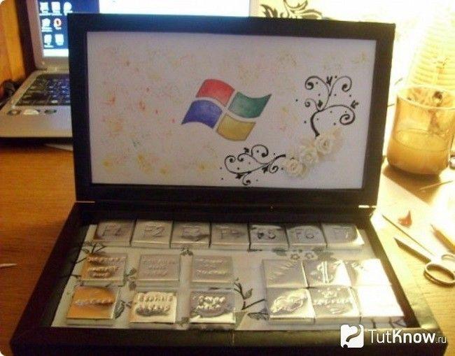 Готовий солодкий ноутбук