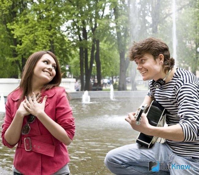 Спілкування хлопця з дівчиною