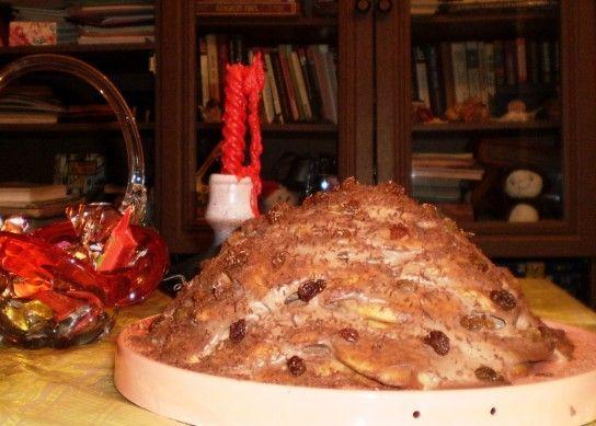Опале листя торт рецепт