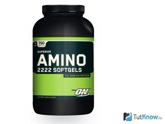 Синтетичні амінокислотні добавки в упаковці