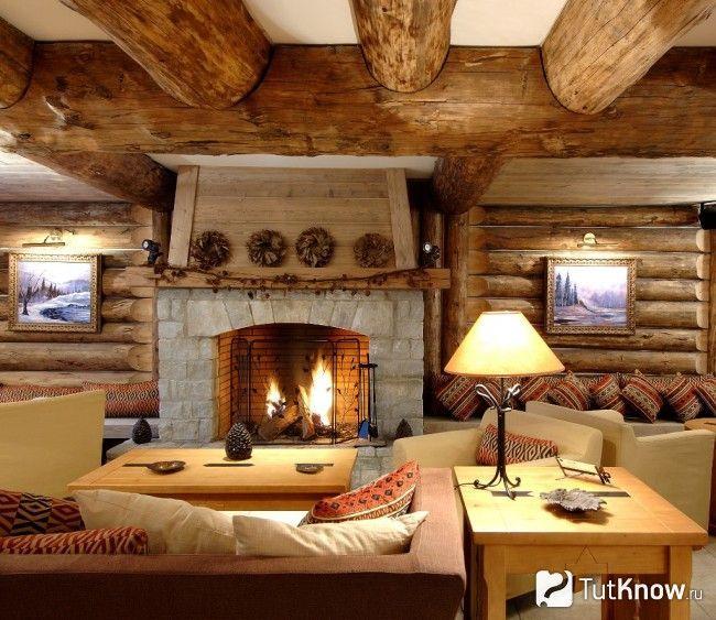 Оформлення кімнати відпочинку під старовину