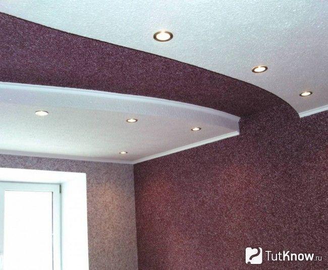 Рідкі шпалери на стелі