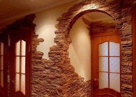 Оздоблення стін декоративним каменем