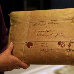 Відкрити в 2012: загадкова посилка 100-річної давності