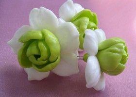 Овочі і квіти з полімерної глини