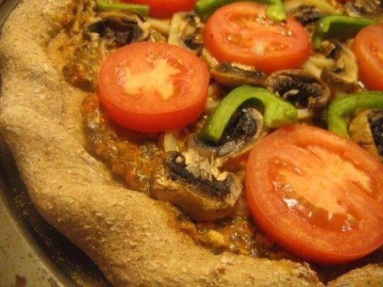 Овочева піца - рецепт