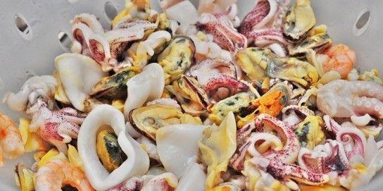 Піца з морепродуктами - рецепт