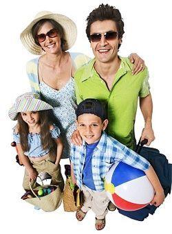 Поїздка на відпочинок з дітьми