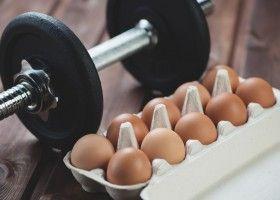 Користь і застосування варених яєць в бодібілдингу