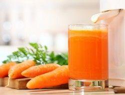 Користь і шкода морквяного соку
