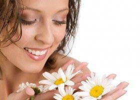 Користь масла ромашки в медицині і косметології
