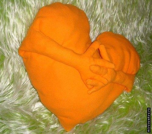 `Подушка-сердечко