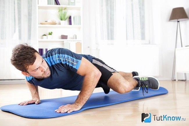 Тренування ніг будинку