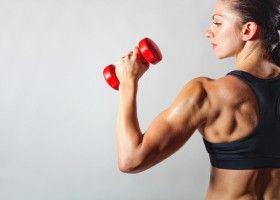 Жіноча спортивна тренування