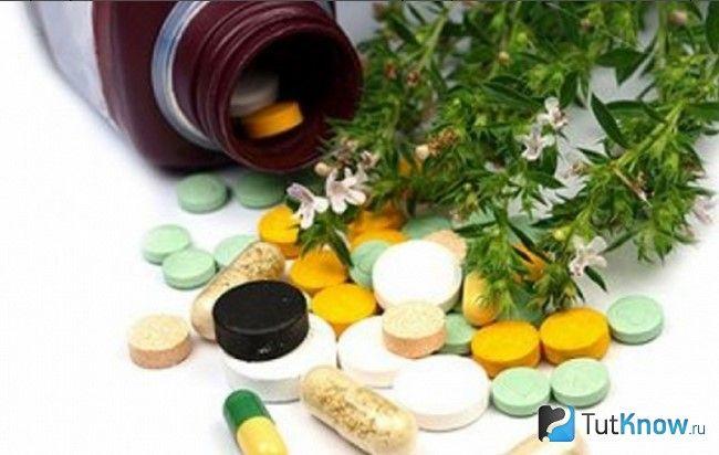 Таблетки, капсули і зелень