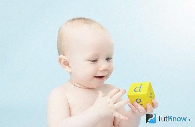 Розумовий розвиток дитини в 1 рік