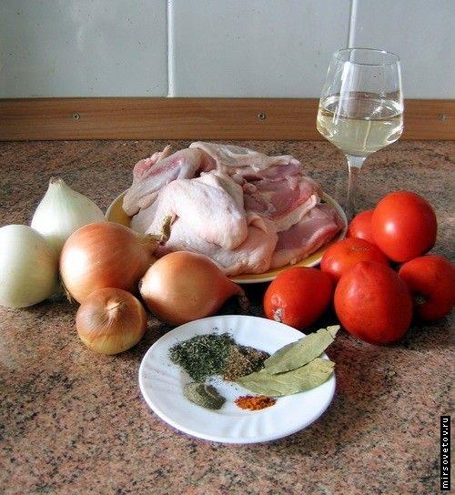 Рецепт чахохбілі з курки