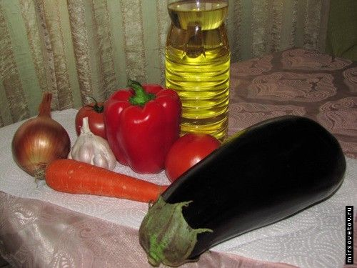 Рецепт ікри з баклажанів