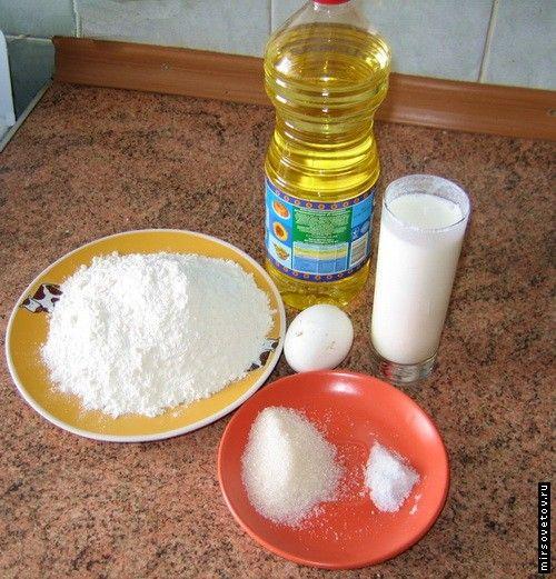 Рецепт пиріжків з капустою на бездріжджового тіста