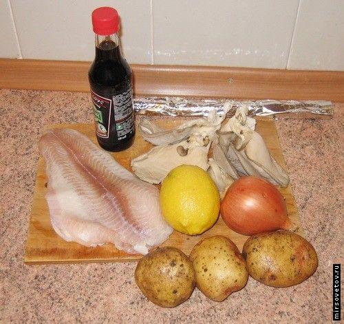 Рецепт риби, запеченої у фользі