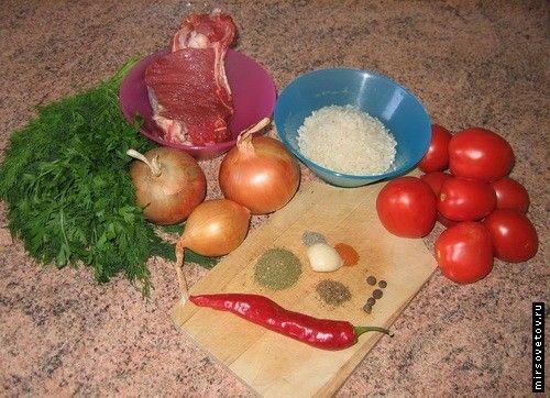 Рецепт супу харчо