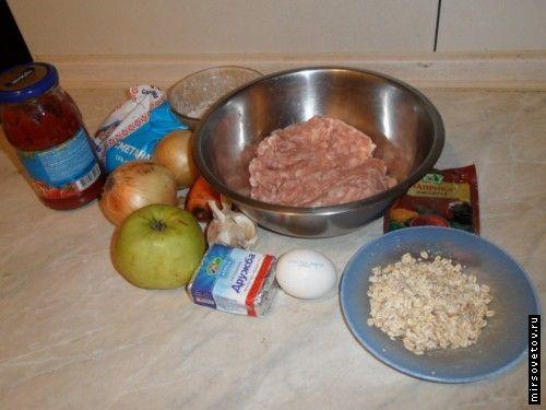 Рецепт тефтелей в духовці