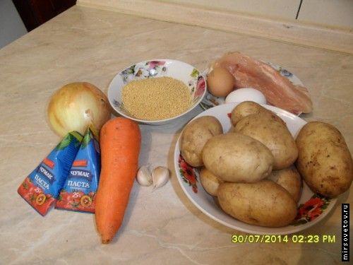 Рецепт томатного супу