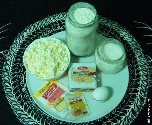 Рецепт сирного печива
