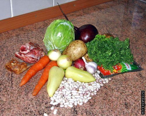 Рецепт українського борщу