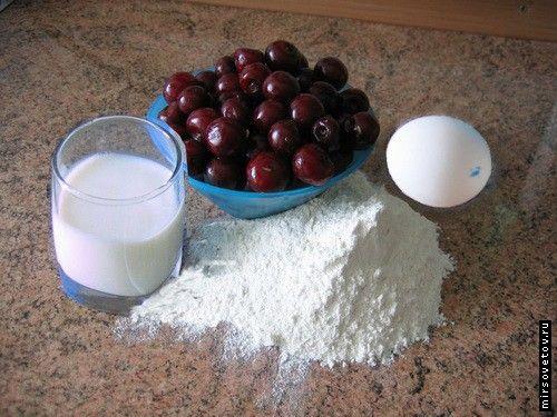 Рецепт вареників з вишнею