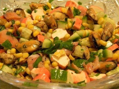 Рецепти легких салатів з фотографіями
